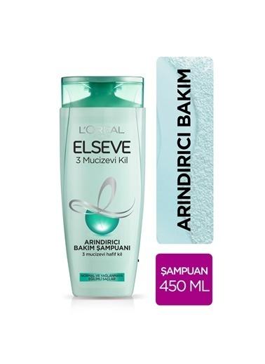 L'Oréal Paris L'Oréal Paris Elseve 3 Mucizevi Kil Ağırlaştırmayan Bakım Şampuanı 450 ml Renksiz